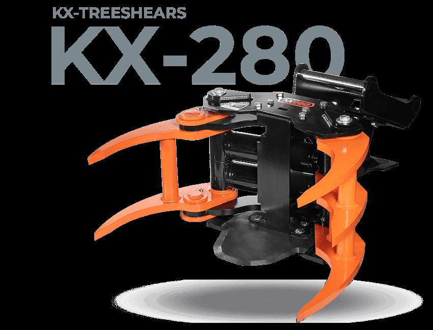 KX-280 Energiapuukoura